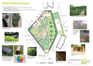 Walled Garden Concept Design